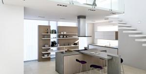 Siemens vitvaror i köksutställning