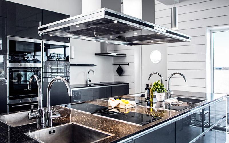 Design Koksflakt : ny koksflokt  Lyxig koksflokt fron Fjoroskupans vitvaror