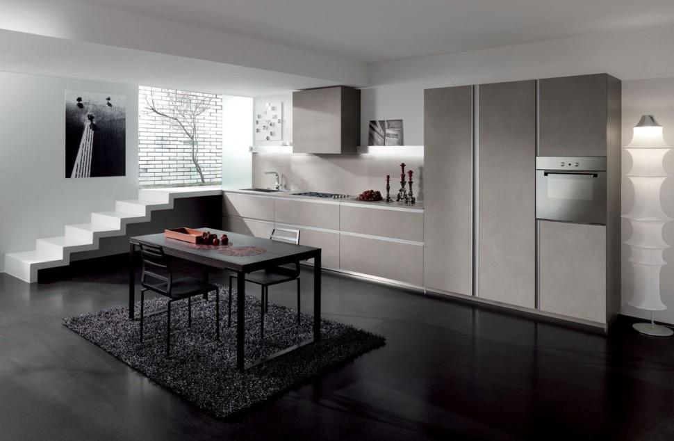 Gra Matta Kok : Moderna kok med italiensk design  Koksinredarna Bjorkman Design AB