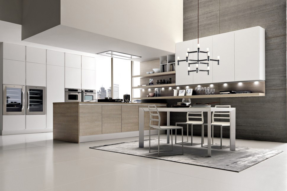 Moderna k k med italiensk design k ksinredarna bj rkman for Arredamenti interni case moderne