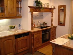 Kök i rustik lantlig stil