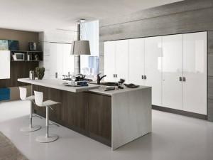 Moderna kök med industriell design hos Björkman Design