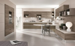 Modernt minimalistiskt kök från Björkman Design