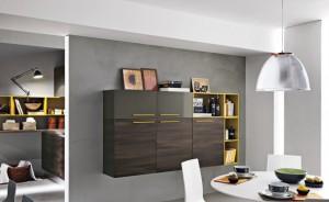 Moderna väggskåp i snygg design