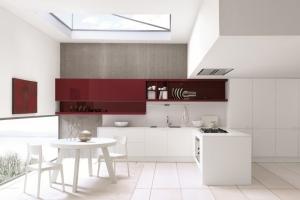Modernt kök Febal Cherry.  <br/>Från Björkman Design