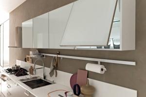 Modernt  kök med vippluckor från Björkman Design