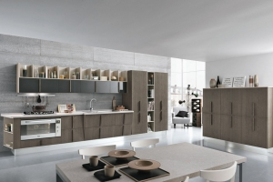 Modernt kök Colombini Wood.<br/>  Från Björkman Design